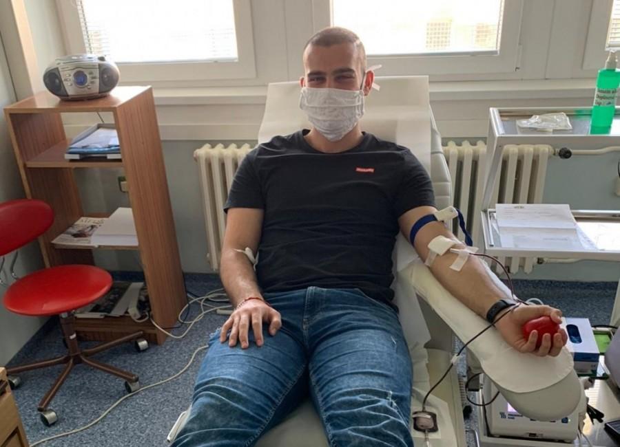 Zapojte sa do výzvy a darujte krv spolu s nami!