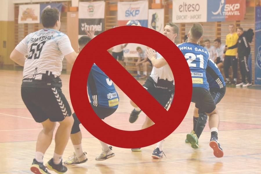 Slovenský zväz hádzanej reaguje, všetky zápasy sú na dva týždne zrušené!