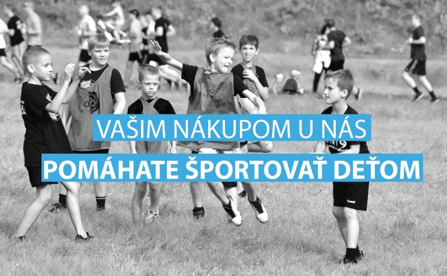 Nový e-shop ŠKP SHOP! Nákupom pomáhate športu