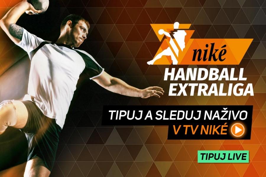 Priame prenosy Niké Handball Extraligy