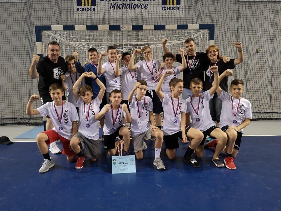 VÝSLEDKY: Mladší žiaci získali na turnaji v Michalovciach bronz